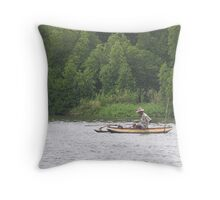 The Madhu River Throw Pillow