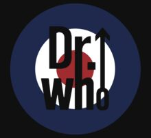 Doctor Who / The Who spoof w/ black background by kelvarnsen