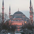 Blue Mosque at dusk by adamgrell
