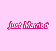 Just Married in pink by jazzydevil