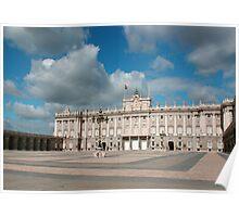 Royal Palace of Madrid Poster