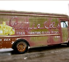 Old Furniture Truck by Julie  Davison