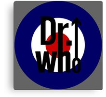 Doctor Who / The Who spoof Canvas Print
