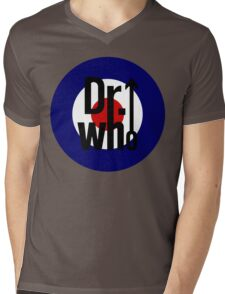 Doctor Who / The Who spoof Mens V-Neck T-Shirt