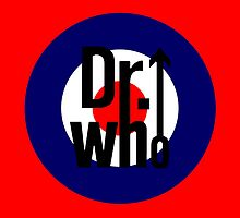 Doctor Who / The Who spoof w/ red background by kelvarnsen