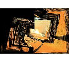 Sunrise Shadows Photographic Print