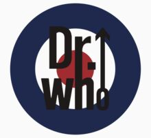 Doctor Who / The Who spoof w/ white background by kelvarnsen