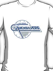 Las Vegas Quicksilvers Defunct Soccer/Football Team T-Shirt