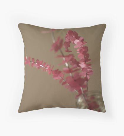 Urban Blooms Throw Pillow