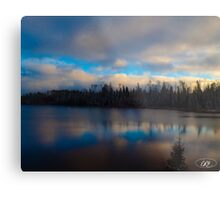 Lake in Northern Ontario Metal Print