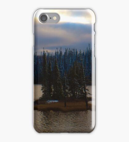 Remote Island in Northern Ontario iPhone Case/Skin