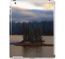 Remote Island in Northern Ontario iPad Case/Skin