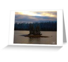 Remote Island in Northern Ontario Greeting Card