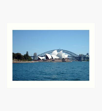 Sydney Icons Art Print