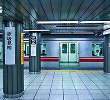 Tokyo Subway by Stuart Wilson