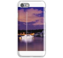 Lonely night on the water iPhone Case/Skin