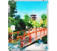 Kawasaki Daishi Bridge and Five-Storied Pagoda iPad Case/Skin