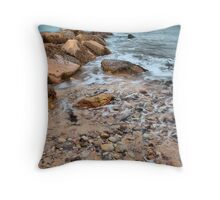 The Edge of the Sea Throw Pillow