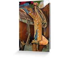 Well heeled Greeting Card
