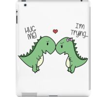 Dino Love! (Hug Me!) iPad Case/Skin