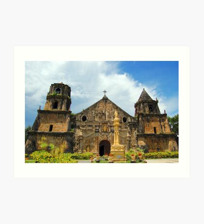 Miag-ao Church Art Print