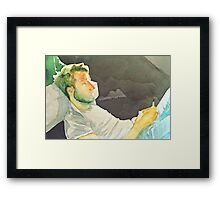 To light up my room Framed Print