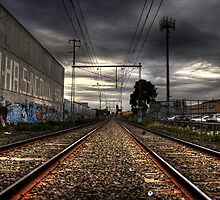 Upfield line by Simon Laird