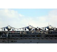 Jets on Deck Photographic Print