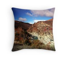 In a rush... Throw Pillow