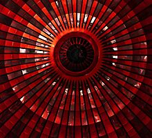 Red rises of the dome by JBlaminsky