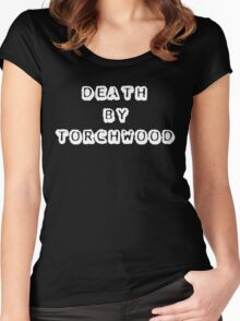 Death By Torchwood Women's Fitted Scoop T-Shirt