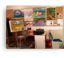 Studio at TAFE Canvas Print