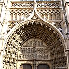 Antwerp Cathedral - Principal Entrance Porch by Gilberte