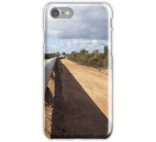 Mundaring weir to Kalgoorlie pipeline II iPhone Case/Skin