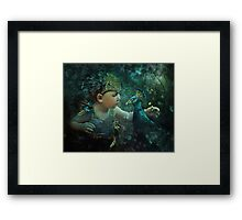 Guardian of the Forest: 100 Eyes Framed Print