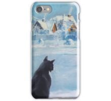 Winter afternoon iPhone Case/Skin