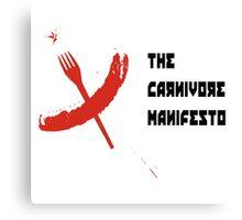 cccp carnivore manual  Canvas Print