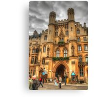 Westminster Abbey .. A Different Angle Canvas Print