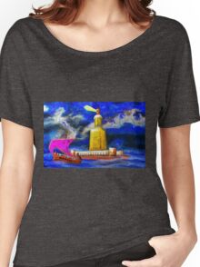 Pharos One of the Seven Wonders of the Ancient World Women's Relaxed Fit T-Shirt