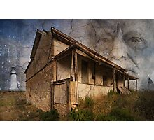 Lighthouse Keeper's Cottage Photographic Print