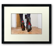 Heels with Style Framed Print