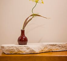 Ikebana Flower Arrangement Photo - Dill blossom by Alexander Evans