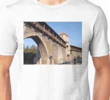 Old Town Wall At Tallinn Unisex T-Shirt