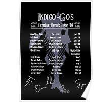 The Indigo-Go's Tour - Signed! Poster