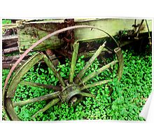 Wagon in the Green Poster