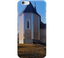 The village church of Hollerberg IV | architectural photography iPhone Case/Skin