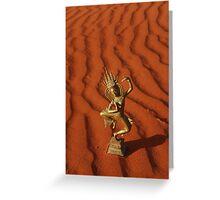 Desert Apsara Greeting Card