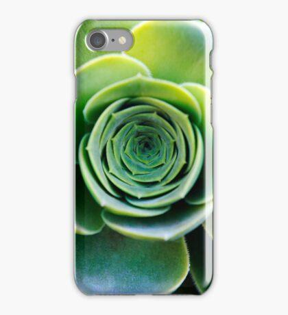 Green houseleek     iPhone Case/Skin