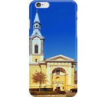 The village church of Niederkappel I | architectural photography iPhone Case/Skin