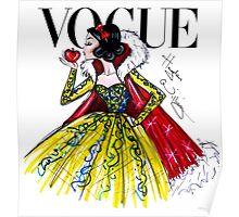 Vogue Snow White Poster